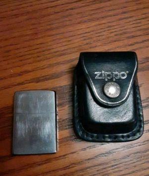 Zippo lighter W/ Zippo case Lifetime warranty for Sale in Tampa, FL