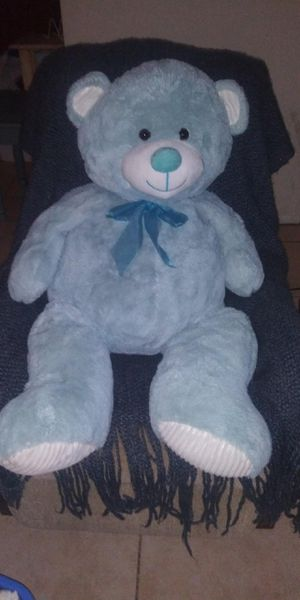 BRAND NEW GIANT BLUE TEDDY BEAR for Sale in Fort Myers, FL