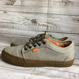 VANS Worlds Skateboard Shoes Vans Skate Gray Grey Rubber Men's Size 9 for Sale in Tampa, FL