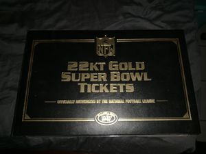 Super bowl ticket collection for Sale in Tampa, FL