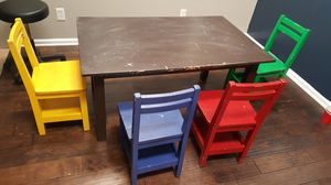 kids table with chairs for Sale in Charlotte, NC