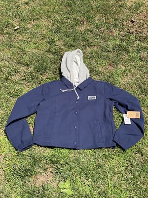 Vans jacket with hoodie for Sale in Los Angeles, CA