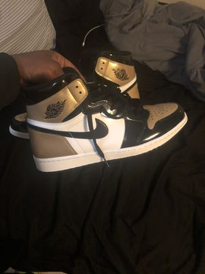 Gold Toe Jordan 1s Size 13 for Sale in Fort Washington, MD