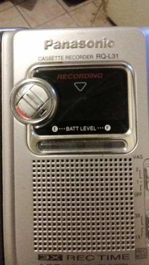 Panasonic Vintage cassette player for Sale in Los Angeles, CA