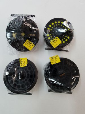 Summit Eagle Claw Cabela's and Genesis fly fishing reels for Sale, used for sale  Belleville, NJ