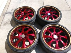 Beautiful VIP Modular VR12's 3 piece wheels for Sale in Santa Cruz, CA