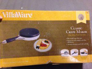 Brand new villaware crepe maker $115 for Sale in Boston, MA