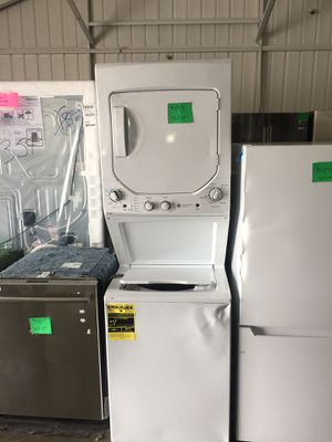 Ge Stacked Washer and Electric Dryer for Sale in San Luis Obispo, CA