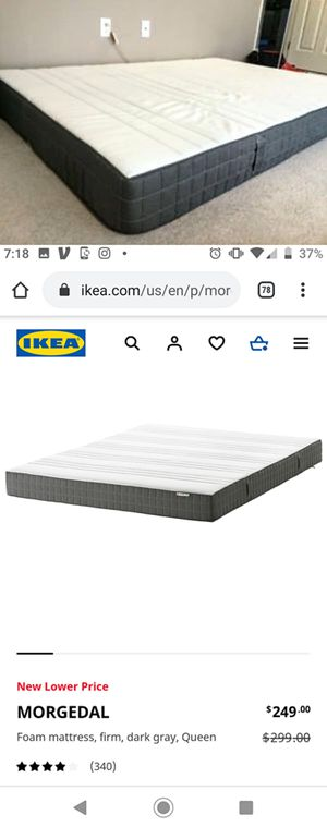 Queen-Size Ikea Morgedal Mattress for Sale in Durham, NC