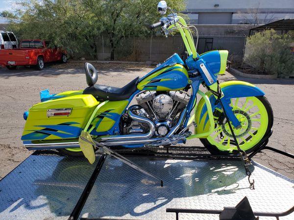 Custom Harley Davidson road king