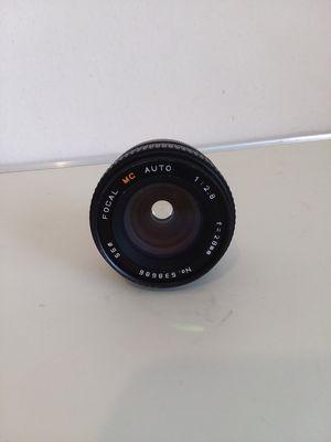 Focal MC Auto 28mm f/2.8 Camera Lens Minolta Mount for Sale in Adelphi, MD