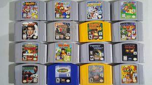 N64 games Nintendo 64 for Sale in Tampa, FL