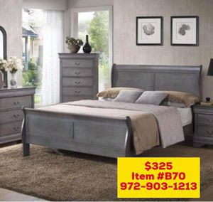 Bed with mattress (( free delivery)) same day for Sale in Dallas, TX