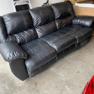 Ashley home Furniture Leather Recliner sofa for Sale in Portland, OR