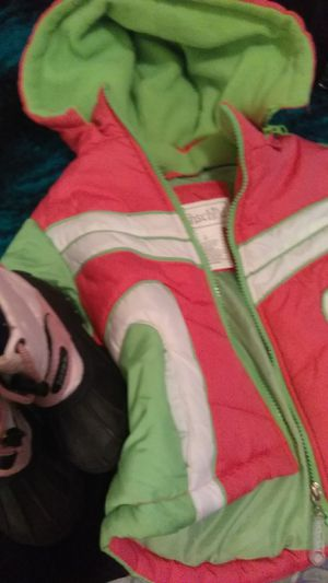 ROTHS CHILD WINTER JACKET WITH SNOW BOOTS for Sale in Longmont, CO