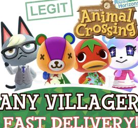Nintendo Switch Animal Crossing Items Bells Any Villager In Boxes Ready To Go Diy Raymond Judy Ankah for Sale in Portland,  OR