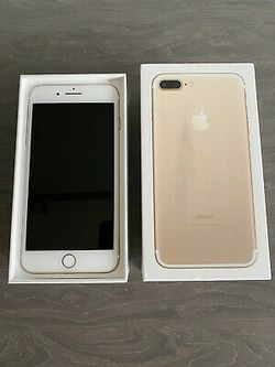 iPhone 7 Plus, ∆!Factory Unlocked & iCloud Unlocked..Full fresh Like New & This phone comes with accessories... for Sale in Springfield,  VA
