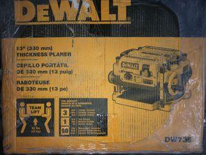 Dewalt planer for Sale in Chicago, IL
