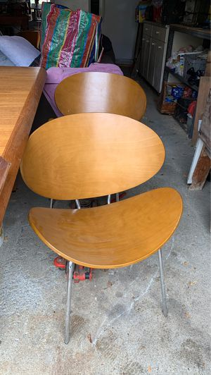 Cool chairs set of 6 for Sale in Salem, MA