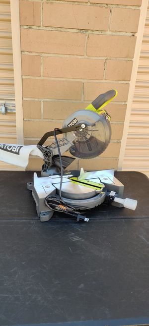 Ryobi 7 1/4 Miter Saw Electric New for Sale in Irving, TX