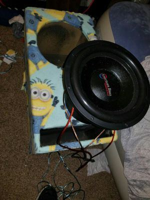 American bass hd12d1 2000rms for Sale in Montgomery, AL