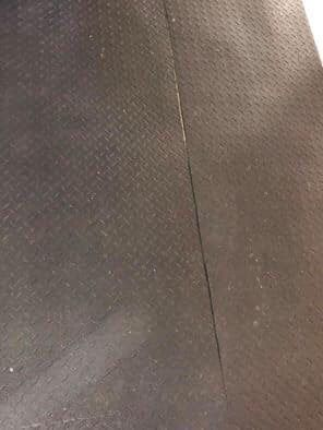 Professional gym rubber mats 1/2inch mats for weights and protecting floors for Sale in Oak Park, MI