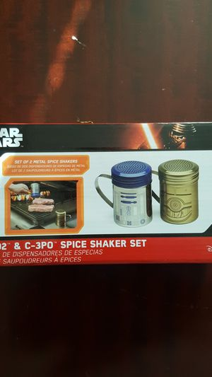 NIB Disney R2-D2 & C3PO spice shaker set for Sale in Fairfax, VA