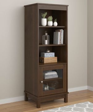 NEW Brown Media Storage Bookcase for Sale in Henderson, NV