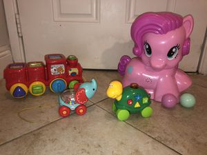 Fisher price, Playskool and Vtech toys for Sale in Plantation, FL