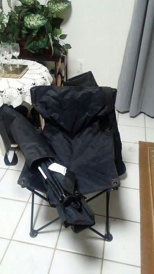 2 new black camping chairs for Sale in Sun City, AZ