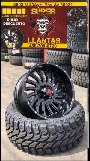 33 1250 18 RINES Y LLANTAS for Sale in Phoenix, AZ