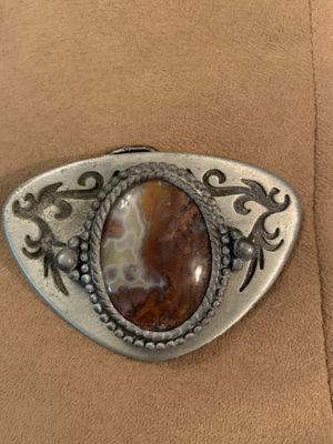 Belt Buckle (pewter I think) for Sale in Payson, AZ