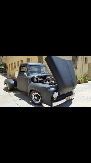 Ford f100 1955 clean title v8 350 !! Custom for Sale in Los Angeles, CA