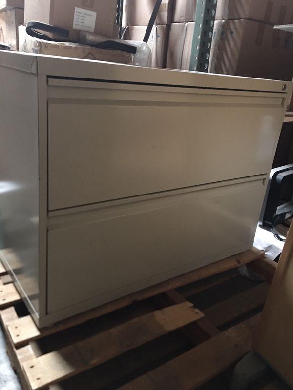 "36"" 2 drawer file cabinet"