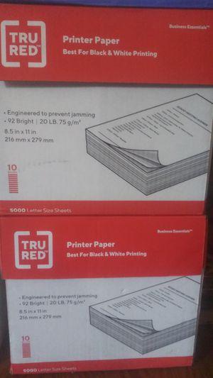 Printer paper TRU RED for Sale in Adelphi, MD