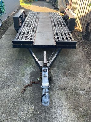 Equipment /car trailer for Sale in Portland, OR