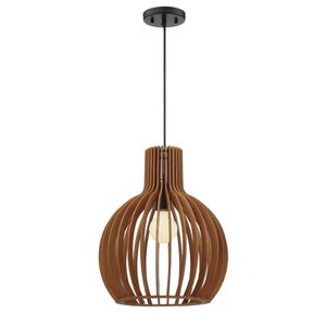 Designers Fountain Kahale 1-Light Mehana Wood Hanging Pendant for Sale in Houston, TX