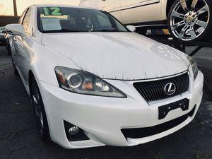 2012 Lexus IS 250 Luxury w/ 106k miles for Sale in Whittier, CA