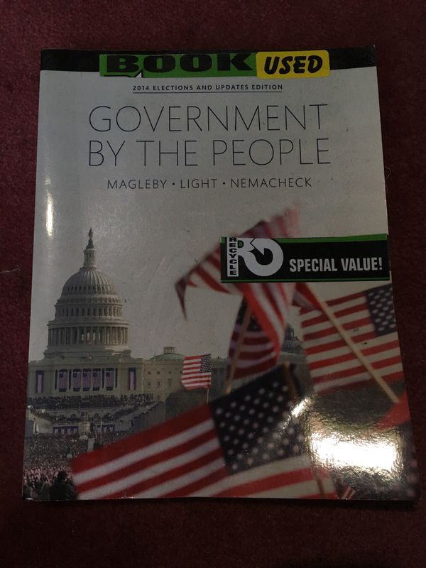 Government By The People Magleby, Light, Nemacheck