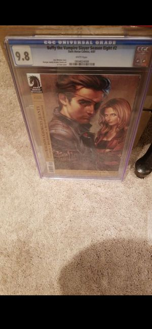 9.8 GRADED SEALED BUFFY THE VAMPIRE SKAYER SEASON 8 #2 COMIC for Sale in Delray Beach, FL