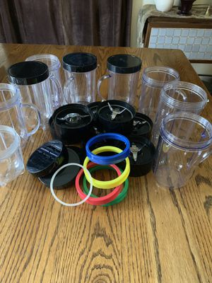 Magic Bullet Extra Cups, Lids, etc. for Sale in Springfield, TN
