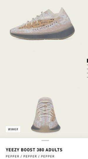 Yeezy boost 380 adidas size 13 for Sale in Westwego, LA