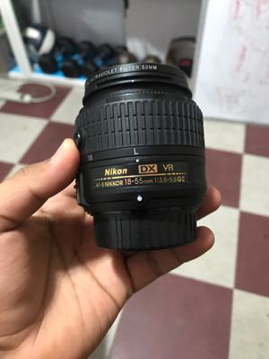 Nikon kit lens zoom 18-55mm f/3.5 -5.6 for Sale in Queens, NY