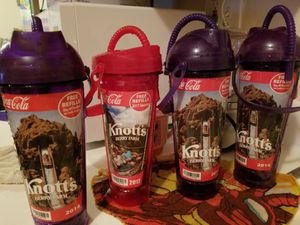 Knotts berry farm refillable cups FREE for Sale in Downey, CA