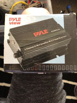 PYLE MINI 2 CHANNEL AMPLIFIER NEW for Sale in Brooklyn, NY