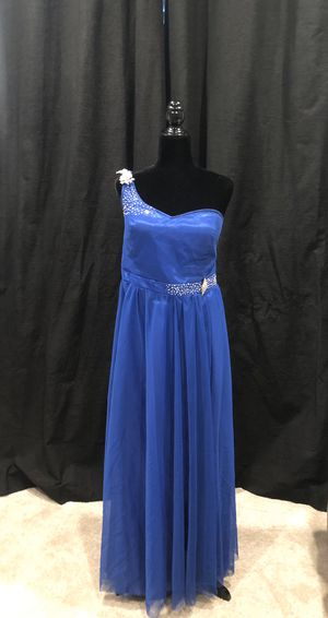 Blue One Shoulder Prom Dress for Sale in Fontana, CA