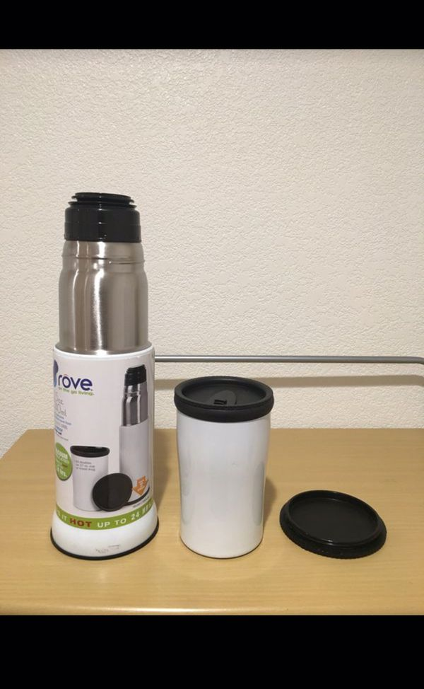 Brand New Rove Hot&Cold Drink insulated Travel Flask