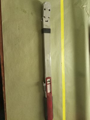 Snap-on 1/2 torque wrench for Sale in Lodi, CA