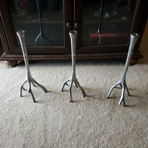 Aluminum tree branch candle holder for Sale in Huntington Beach, CA