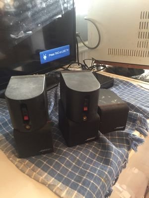 5 Bose lifestyle surround sound speaker for Sale in Somerville, MA